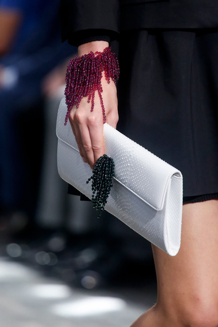 Dior-White-Python-Clutch-Bag-Runway-Spring-2014