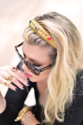 DIY+Gold+bejeweled+headband+Dolce+gabbana