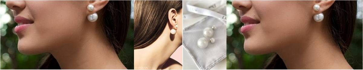 DIY -- DIOR DOUBLE PEARL EARRINGS