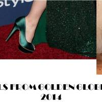 BEST SHOES FROM GOLDEN GLOBE AWARDS 2014